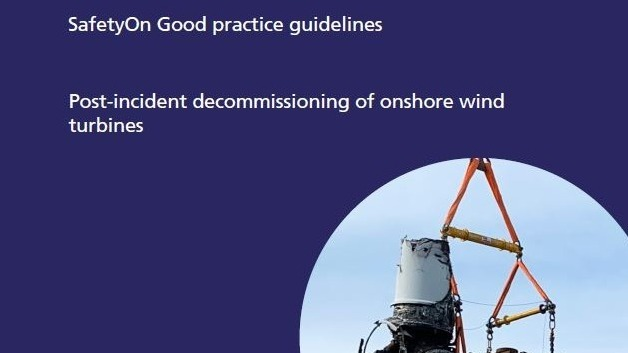 SafetyOn_Post-incident decommissioning of onshore wind turbines